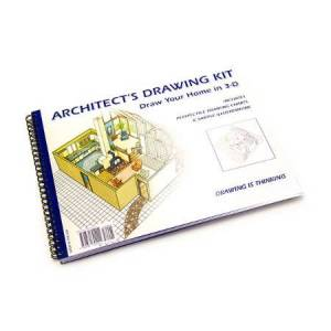 Design Works, Inc. Architect's Drawing Kit - Arts & Crafts for Ages 9 to 12 - Fat Brain Toys