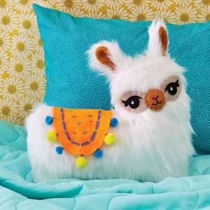 Klutz Sew Your Own Furry Llama Pillow - Arts & Crafts for Ages 10 to 12 - Fat Brain Toys