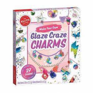 Klutz Make Your Own Glaze Craze Charms - Arts & Crafts for Ages 8 to 12 - Fat Brain Toys