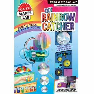 Klutz DIY Rainbow Catcher - Books for Ages 8 to 12 - Fat Brain Toys