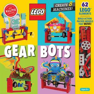 Lego Gear Bots - Books for Ages 8 to 11 - Fat Brain Toys