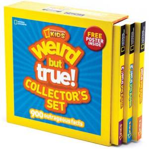 National Geographic Books Weird But True Collector's Set - Books for Ages 9 to 10 - Fat Brain Toys