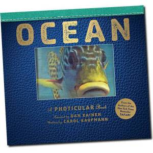 Workman Publishing Ocean A Photicular Book - Books for Ages 3 to 7 - Fat Brain Toys