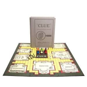 Hasbro Vintage Bookshelf Edition - Clue - Classic & Retro Toys for Ages 8 to 12 - Fat Brain Toys
