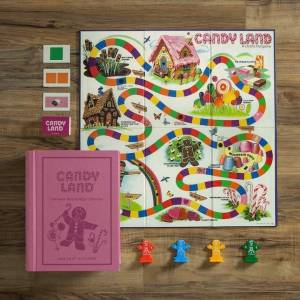 W.S. Game Company Candy Land Vintage Bookshelf Edition - Classic & Retro Toys for Ages 3 to 8 - Fat Brain Toys