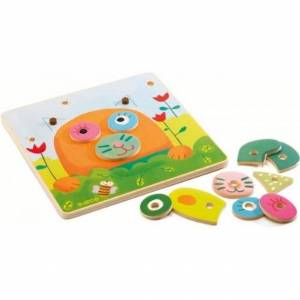 Djeco Create a Wubby - Early Learning Toys for Babies - Fat Brain Toys