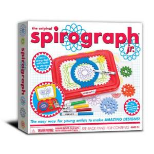 Kahootz, Spirograph Spirograph Junior - Arts & Crafts for Ages 3 to 6 - Fat Brain Toys