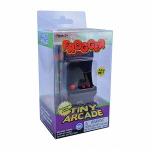 Super Impulse World's Smallest Tiny Arcade Frogger - Classic & Retro Toys for Ages 8 to 12 - Fat Brain Toys