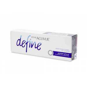 Acuvue 1 Day Acuvue Define Accent Style Contact Lenses Online 30 Pack Daily - Johnson & Johnson Coastal