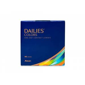Dailies Alcon Colors 90 Pack Color Contact Lenses in Lightbrown/Blue/Green/Grey   Daily/Monthly/Weekly - Online Coastal