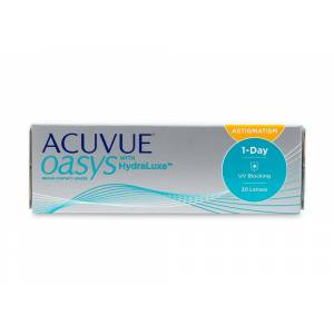 Acuvue Oasys Contact Lenses Online 30 Pack Daily Toric/Astigmatism - Johnson & Johnson Coastal