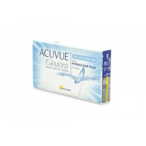 Acuvue Oasys for Astigmatism Contact Lenses Online 6 Pack Daily Toric/Astigmatism - Johnson & Johnson Coastal