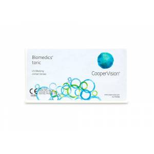 Biomedics 55 Contact Lenses Online 6 Pack Daily Toric/Astigmatism - Coopervision Coastal