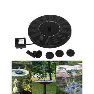 Rosegal Solar Floating Miniature Fountain Set