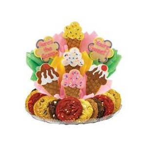 Cookies by Design Ice Cream Cones Cookie BouTray™