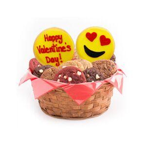 Cookies by Design Gluten Free Love Emoji Cookies   Valentine Basket