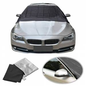 Generic Vehicle Windshield Protector with Double Waterproof Coat & Magnetic Clips