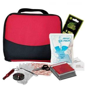 Zone Tech 2-in-1 Travel First Aid Kit