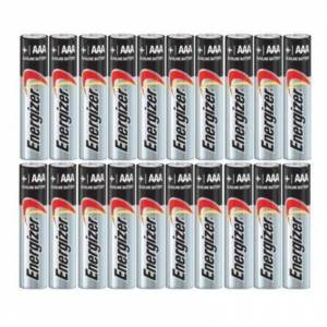 Energizer AA/AAA Max Alkaline Batteries - 20 Pack