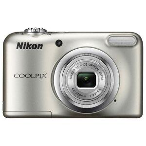 Nikon COOLPIX A10 16.1MP 5x Zoom NIKKOR Glass Lens Digital Camera - Silver