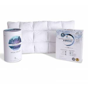 PureCare                                                                         PureCare California King Luxury Cooling Bundle with King Pillows                                                           - Light Blue