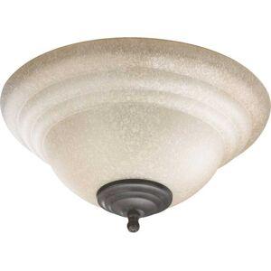 """Quorum International Quorum 2-Light 13"""" Ceiling Fan Light Kit in Toasted Sienna or Old World"""