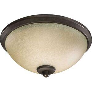 """Quorum International Quorum Alton 3-Light 11"""" Ceiling Fan Light Kit in Toasted Sienna"""