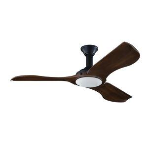 """Monte Carlo Minimalist 56"""" Ceiling Fan in Matte Black"""