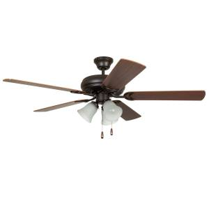 """Craftmade 52"""" Decorator's Choice Ceiling Fan in French Bronze"""
