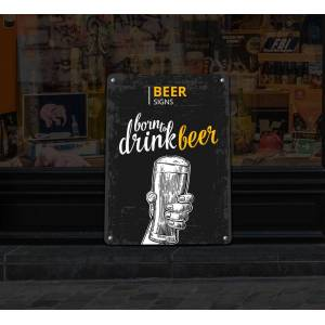 Bannerbuzz Reflective Beer Signs