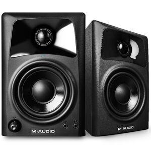 M-Audio AV32 Compact Desktop Speakers for Professional Media Creation