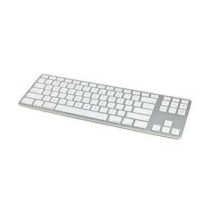 Matias Wired Aluminum Tenkeyless Keyboard-Silver