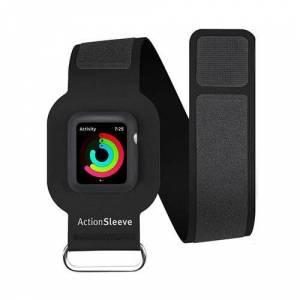 Twelve South ActionSleeve Slim Armband for 42mm Apple Watch - Black