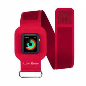 Twelve South (*) Twelve South ActionSleeve Armband for 38mm Apple Watch - Red