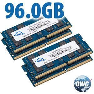 Other World Computing 96.0GB (2x 32GB + 2x 16GB) 2666MHz DDR4 PC4-21300 SO-DIMM 260 Pin Memory Upgrade Kit