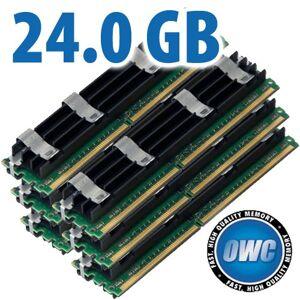 Other World Computing 24.0GB Mac Pro Memory Matched Pair (6x 4GB) PC6400 DDR2 ECC 800MHz 240 Pin FB-DIMM Modules