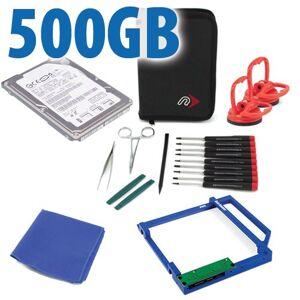Other World Computing DIY Kit: Data Doubler + 500GB Travelstar 7200RPM Hard Drive + custom iMac Toolkit.