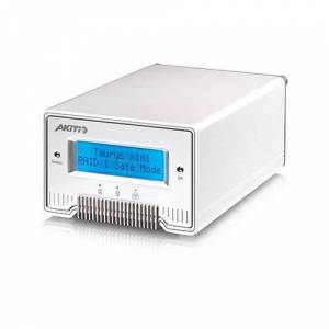 AKiTiO 2.0TB (1TB x 2) AKiTiO Taurus Mini Super-S3 LCM Portable Dual-Bay RAID Storage Solution