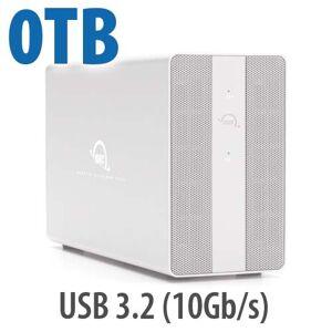 Other World Computing OWC Mercury Elite Pro Dual RAID Storage Enclosure with USB (10Gb/s) + 3-Port Hub