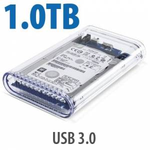 Other World Computing 1.0TB OWC Mercury On-The-Go Pro USB 3.0 / 2.0 5400RPM Portable Bus Powered Solution.