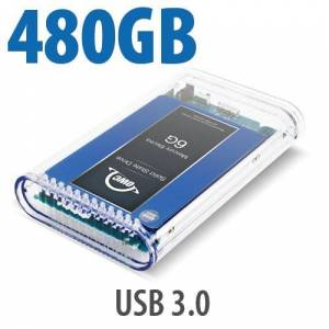 Other World Computing 500GB SSD OWC Mercury On-The-Go Pro USB 3.0 / 2.0 SSD Portable Bus Powered Solution.