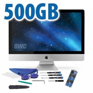 Other World Computing DIY Kit: 500GB OWC Aura Pro 6G Solid-State Drive for 2012-13 iMac with complete DIY toolkit
