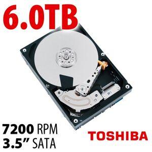Toshiba 6.0TB Toshiba MD04ACA Series 3.5-inch SATA 6.0Gb/s 7200RPM Hard Drive