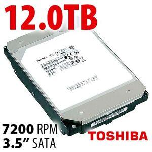 Toshiba 12.0TB Toshiba MG07ACA Series 3.5-inch SATA 6.0Gb/s 7200RPM Enterprise Class 9-Disk Hard Drive