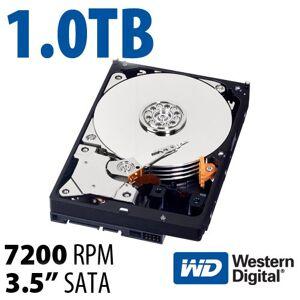 Western Digital 1.0TB WD Blue 3.5-inch SATA 6.0Gb/s 7200RPM Hard Drive