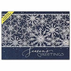 Deluxe for Business Frosty Greetings Holiday Cards