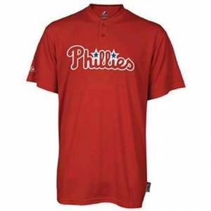 Majestic MLB® Cool Base™ Adult Two-Button Replica Jersey from Majestic