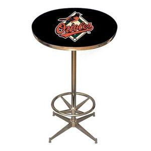 Imperial International Baltimore Orioles MLB Licensed Pub Table from Imperial International