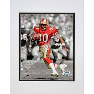 """Photo File Jerry Rice Spotlight Collection Double Matted 8"""" x 10"""" Photograph (Unframed)"""