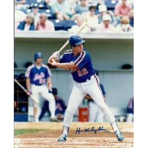 """Real Deal Memorabilia Kevin McReynolds Autographed New York Mets 8"""" x 10"""" Photograph (Unframed)"""
